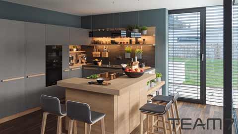 team7 k chen in kelheim m bel gassner regensburg ingolstadt landshut abensberg neustadt donau. Black Bedroom Furniture Sets. Home Design Ideas